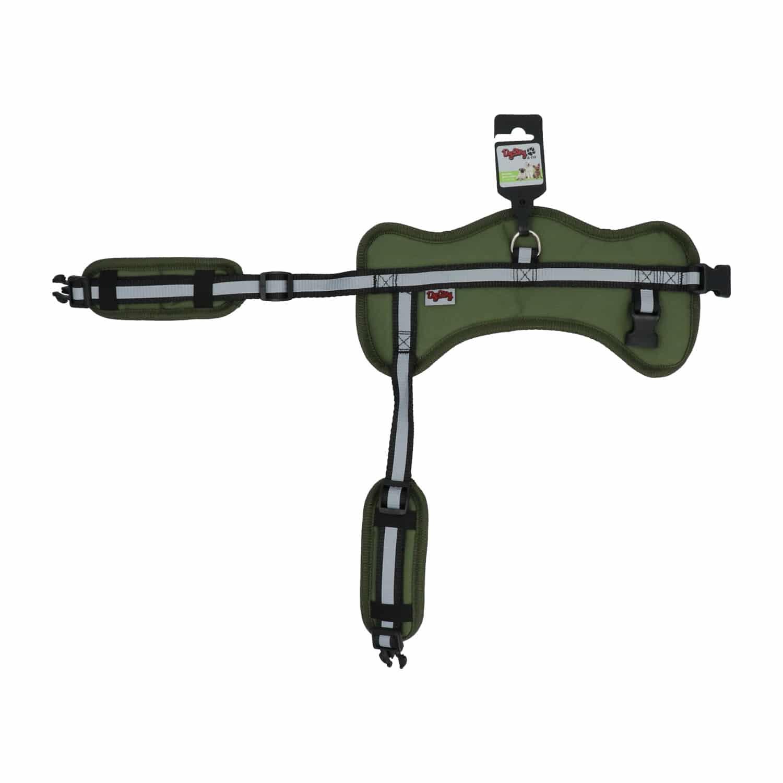 4Goodz hondentuig S - 33-45 cm - Voor kleine honden - Groen