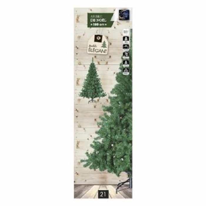 4goodz Elegant kunstkerstboom dennenboom 150 cm hoog en 86 cm breed
