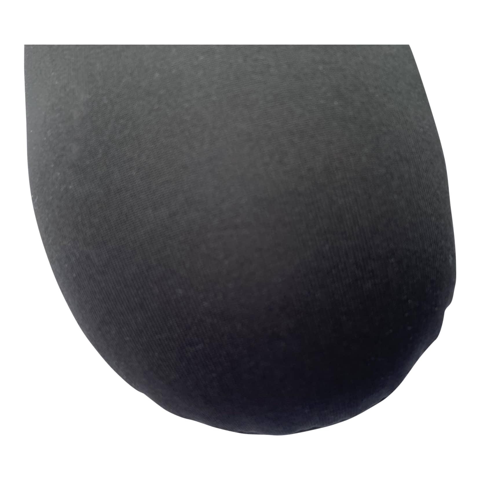 4Goodz comfortabel ergonomische reis nekkussen - Zwart