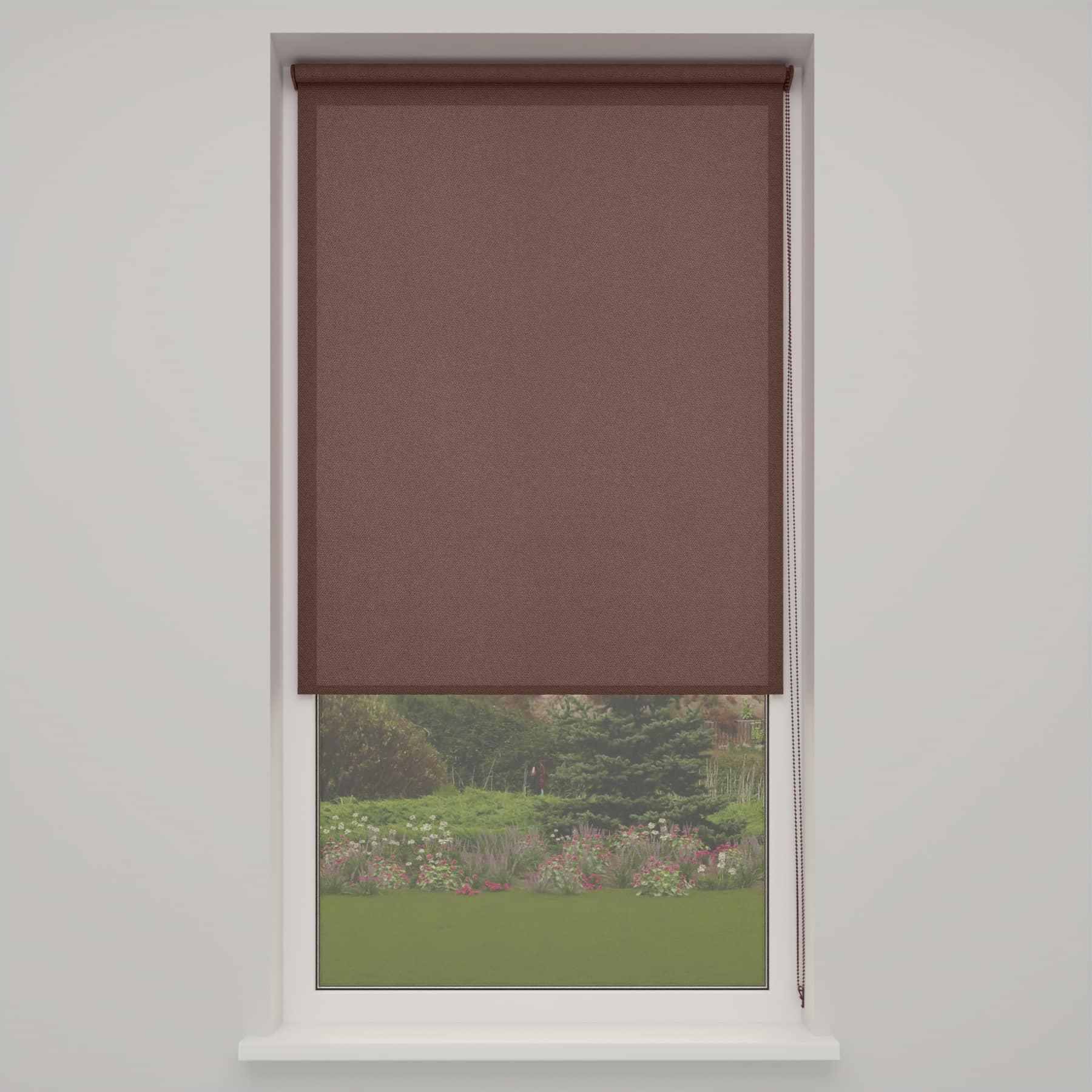 4goodz Rolgordijn Lichtdoorlatend Easy 90x180 cm - Taupe