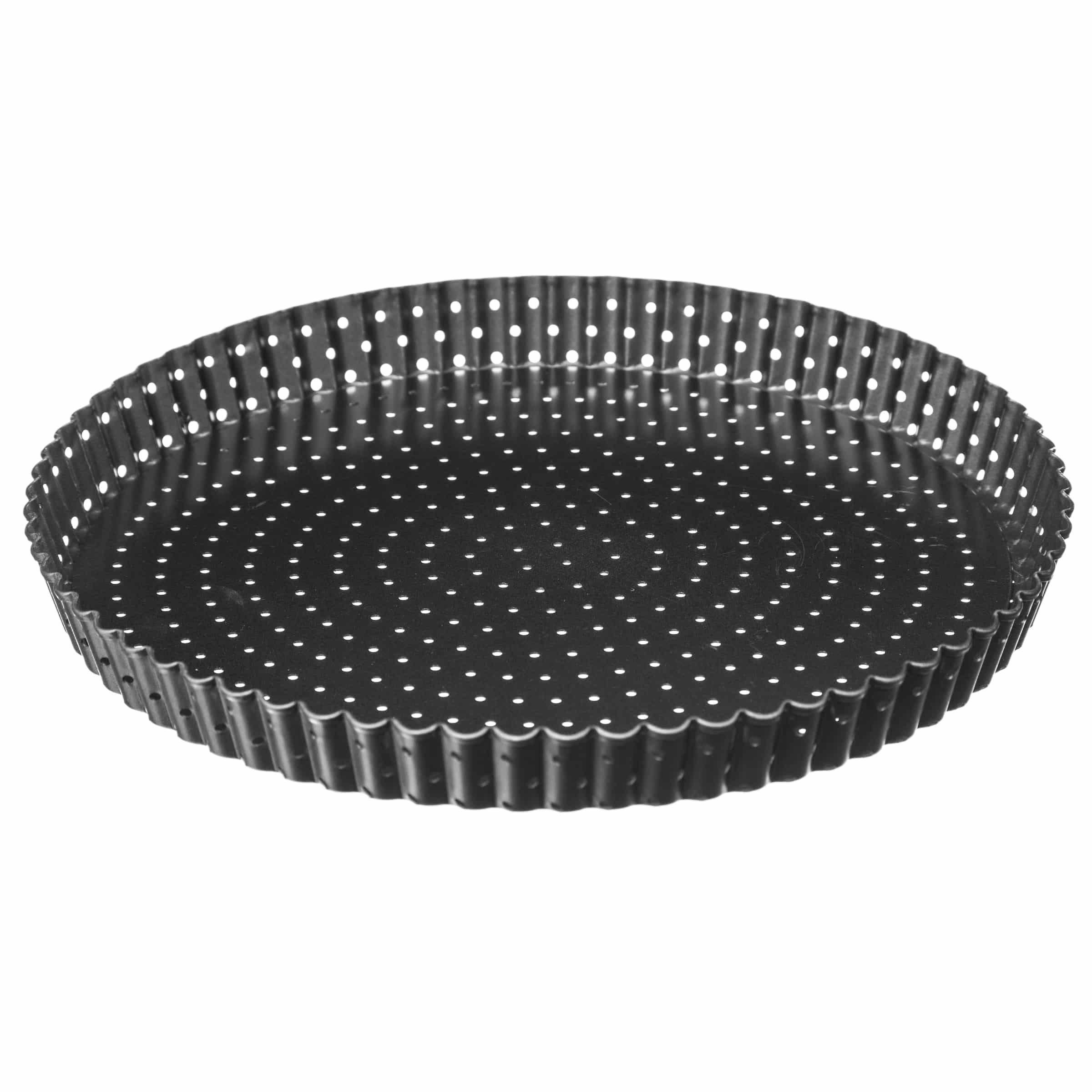4Goodz Geperforeerde Quichevorm/taartvorm met uitneembare bodem 28cm