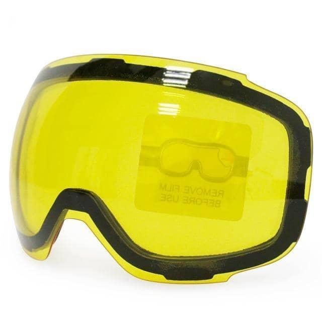 Alpine 2 Junior Yellow Lens - extra Gele lens - anti condens en UV