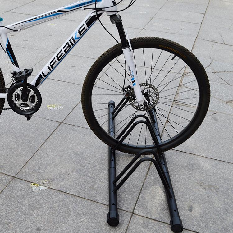 4toolz stabiel stalen fietsenrek voor drie fietsen - Zwart