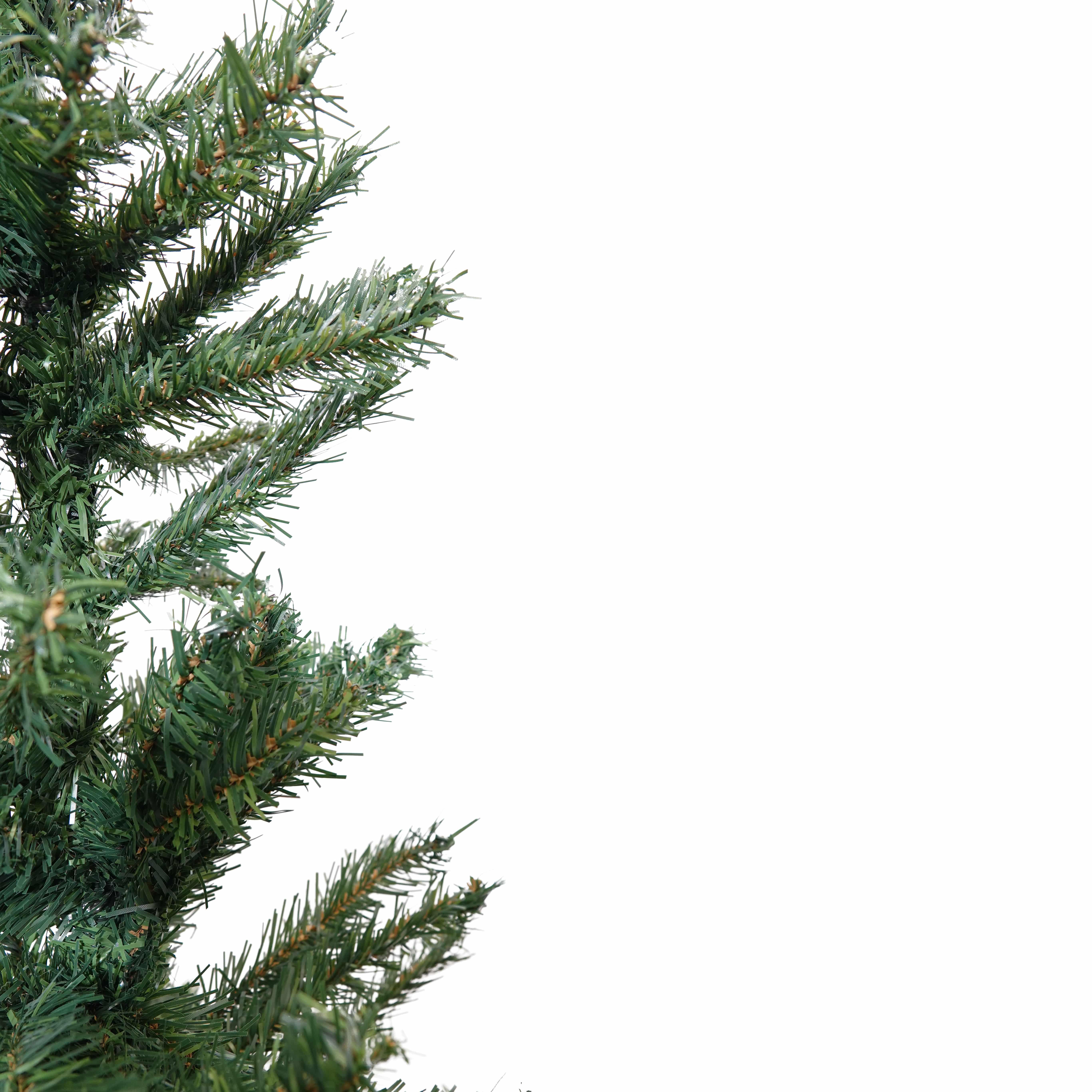 4goodz Elegant kunstkerstboom dennenboom 180 cm hoog en 120 cm breed