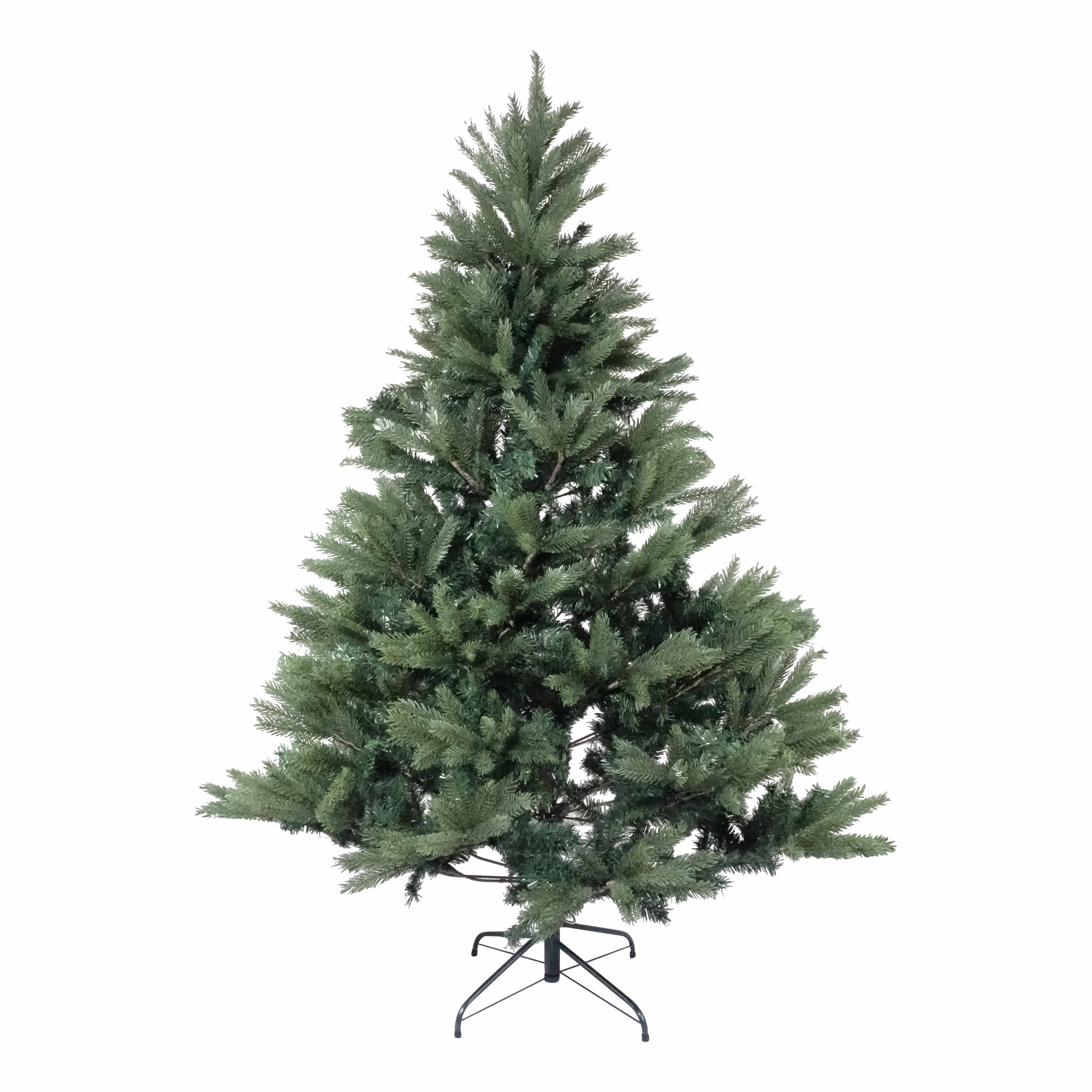 4Goodz natuurgetrouwe Premium Kunstkerstboom Groene Spar 210 cm