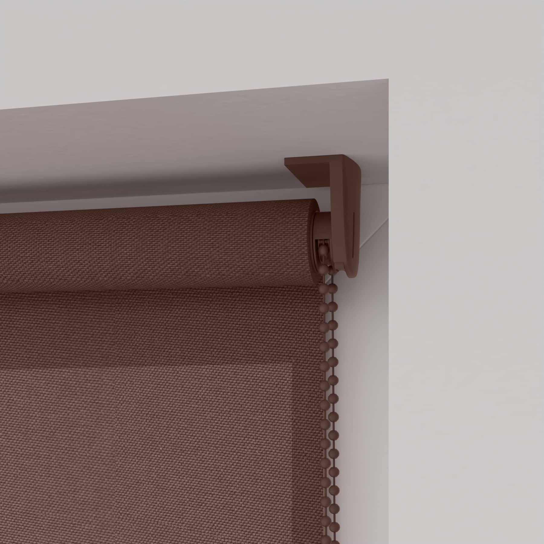 4Goodz Rolgordijn Lichtdoorlatend Easy 120x180 cm - Taupe
