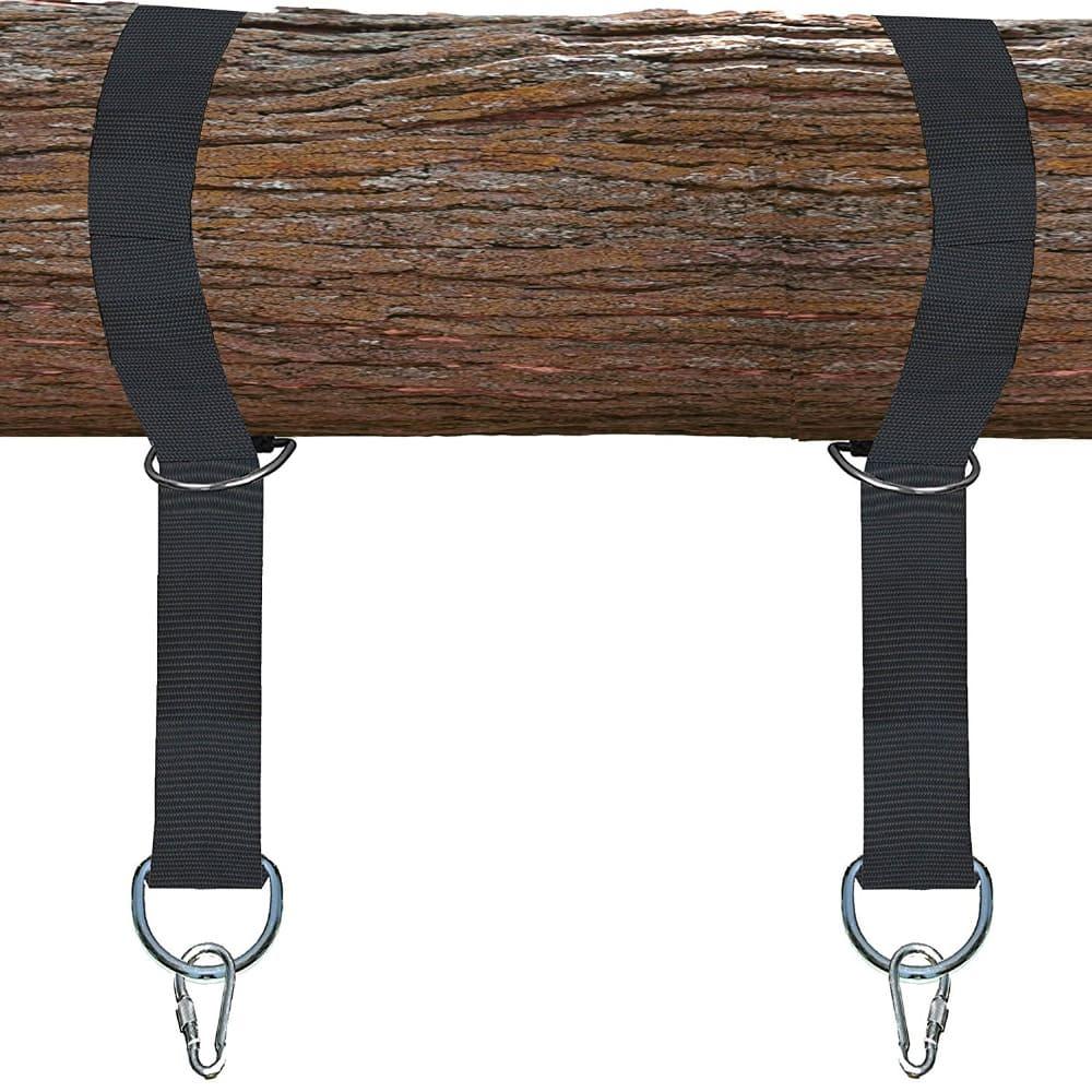 4gardenz® nylon schommel / hangmat ophangset voor boom of balk