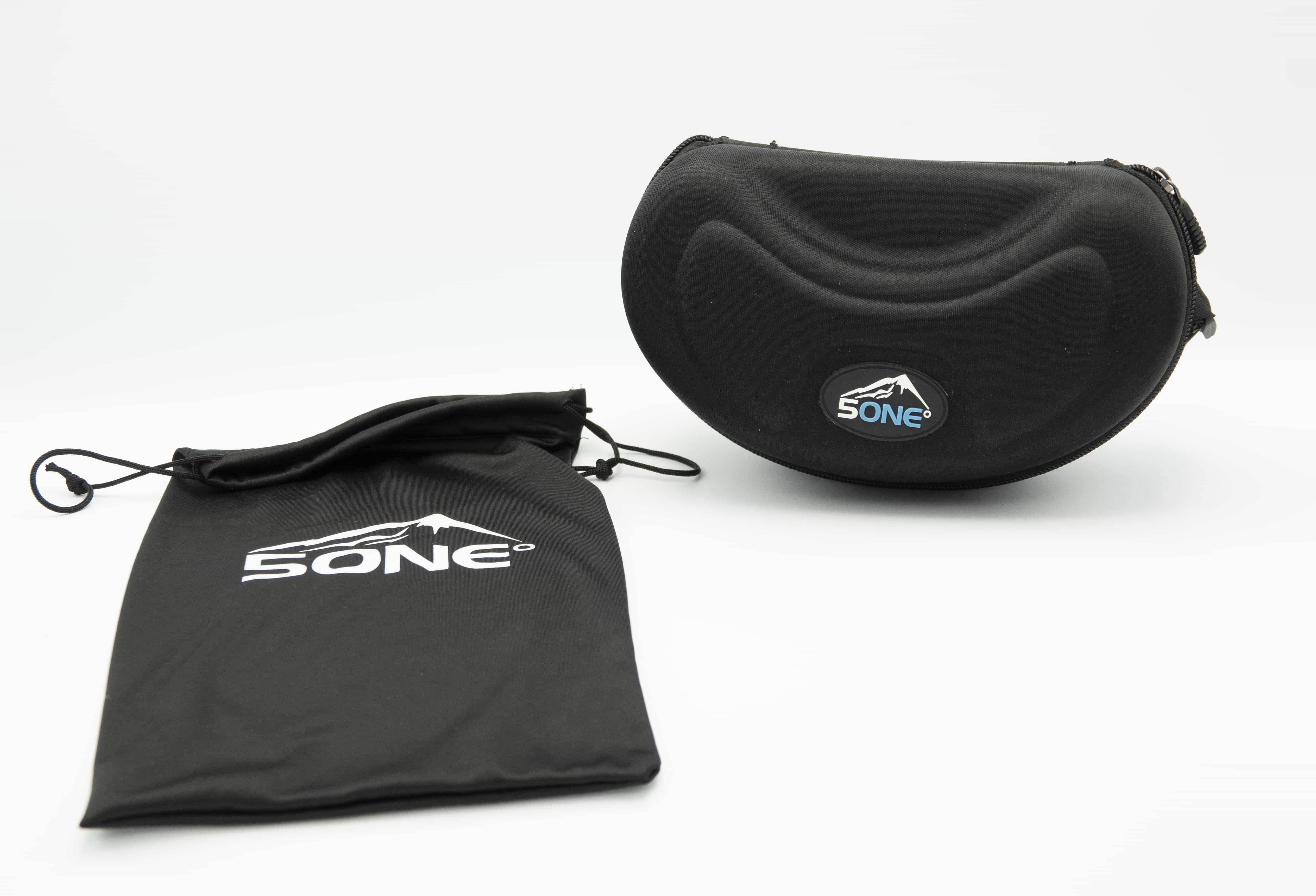 5one® Alpine 7 - skibril - 2 verwisselbare lenzen - Oranje en Blauw