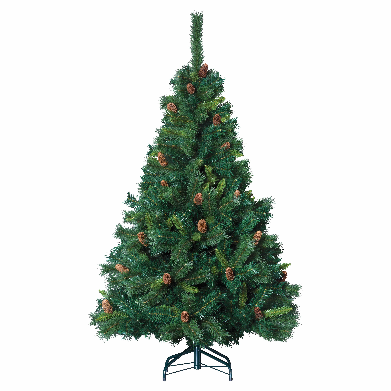 4goodz kunstkerstboom Royal Majestic Spar 210 cm met Dennenappels