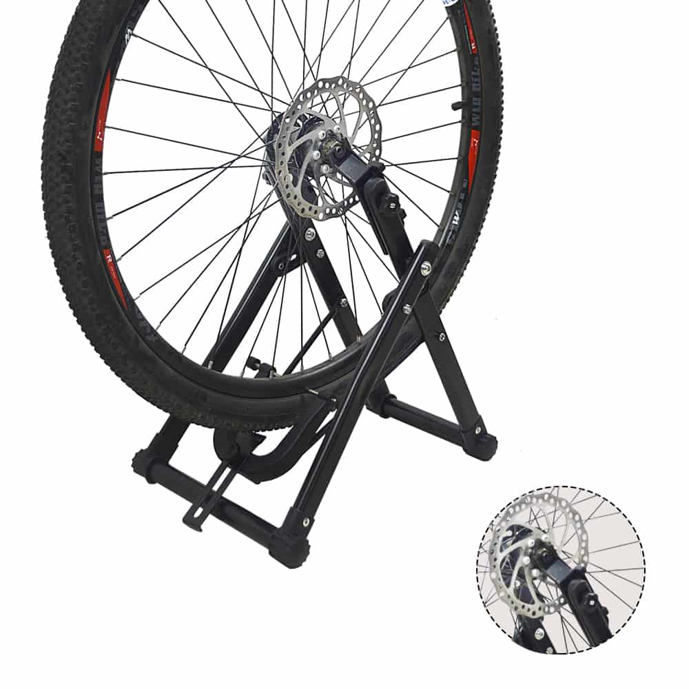 4bikez® Opvouwbare Wielrichter /spaak centreerstandaard
